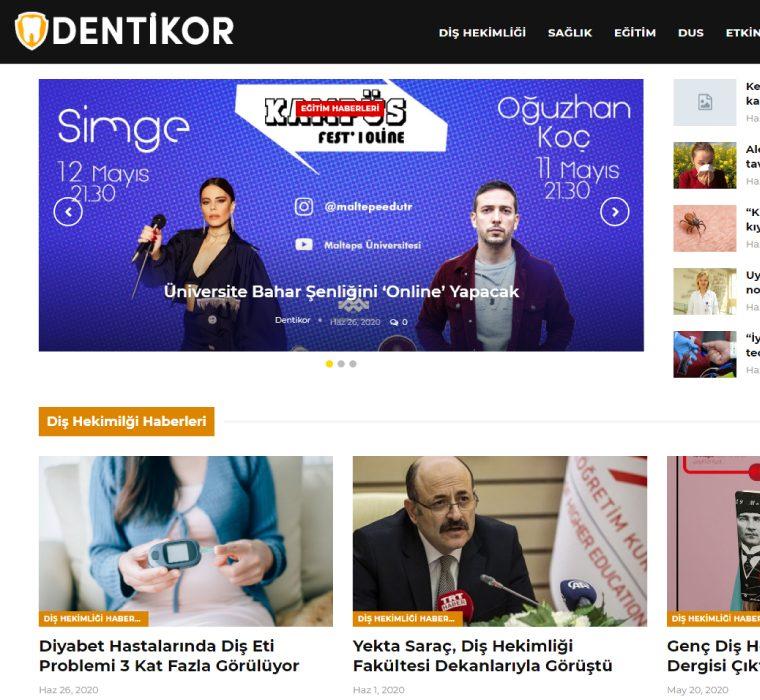 Dentikor Haber Sitesi