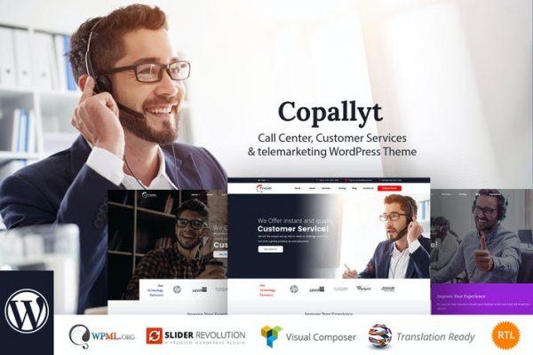 Copallyt -  Çağrı Merkezi ve Telefonla Pazarlama WordPress T