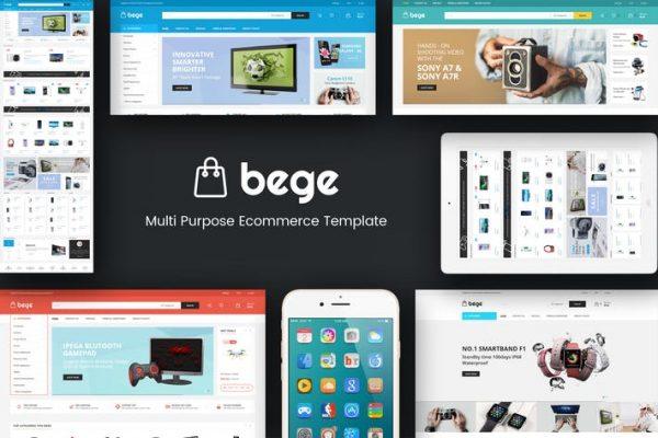 Bege -  Duyarlı WooCommerce WordPress Temasısı