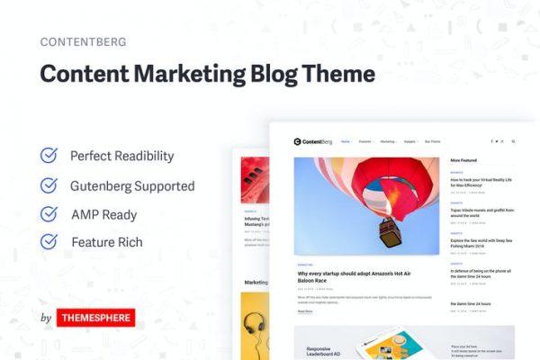 Contentberg Blog - İçerik Pazarlama Blog Temasısı