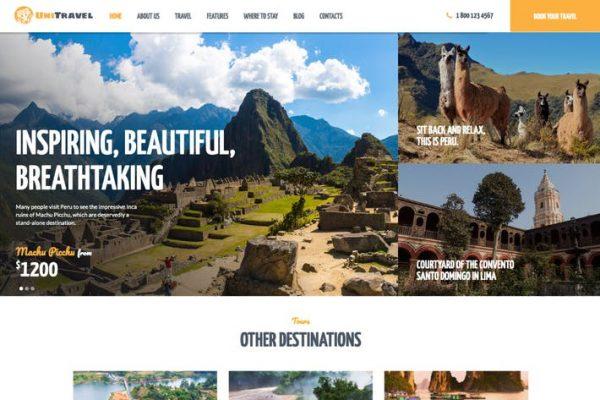UniTravel -  Seyahat Acentası ve Turizm Bürosu WP
