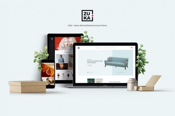 Zuka - Temiz, Minimal WooCommerce Temasısı