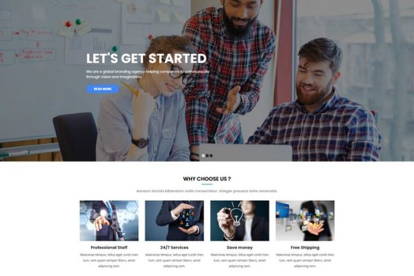 Kiamo -  Duyarlı İş WordPress Temasısı