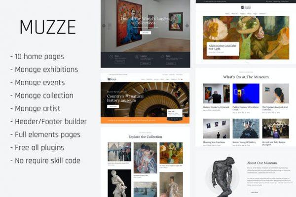 Muzze -  Müze Sanat Galerisi Sergisi WP Temasıları
