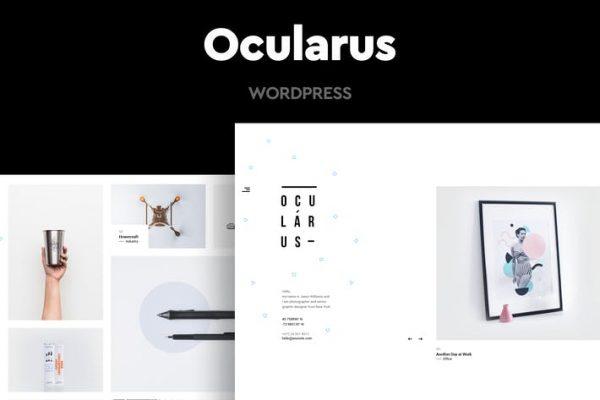Ocularus - Minimal Fotoğraf WordPress Temasısı