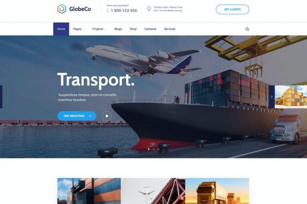 GlobeCo - Taşımacılık ve Lojistik WordPress