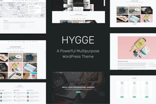 Hygge - Çok Amaçlı Tek / Çok Sayfalı WP Temasısı