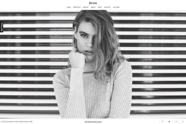 Borano - Fotoğrafçılık / Portföy WordPress Temasısı