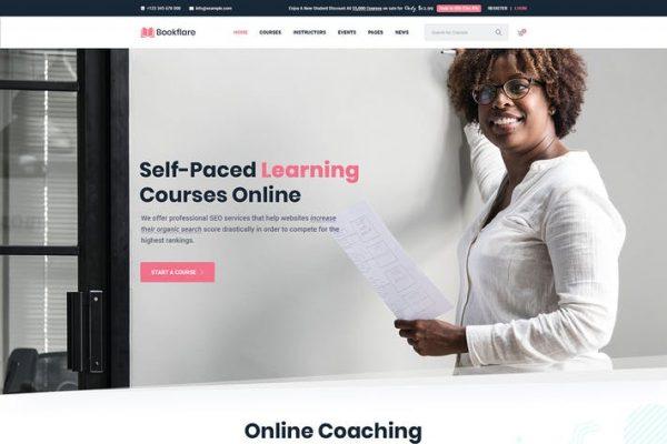 Bookflare -  Modern Eğitim ve LMS WordPress