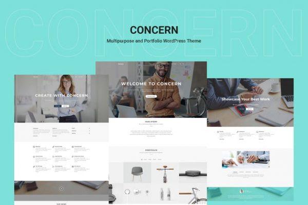 Concern -  Çok Amaçlı ve Portföy WordPress