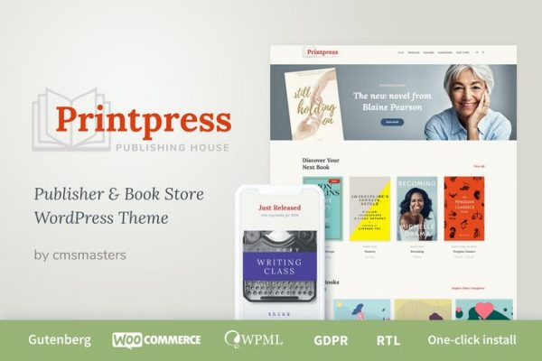 Printpress -  Kitap Yayıncılığı WordPress Temasısı