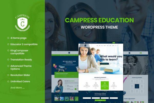 Campress - Eğitim, Kurslar WordPress Temasısı