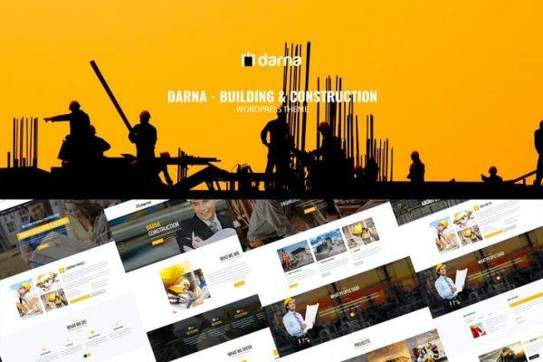 Darna -  Yapı ve İnşaat WordPress Temasısı