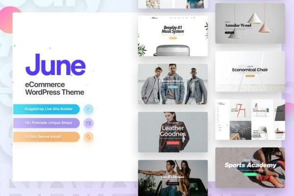 June -  Moda WooCommerce WordPress Temasısı