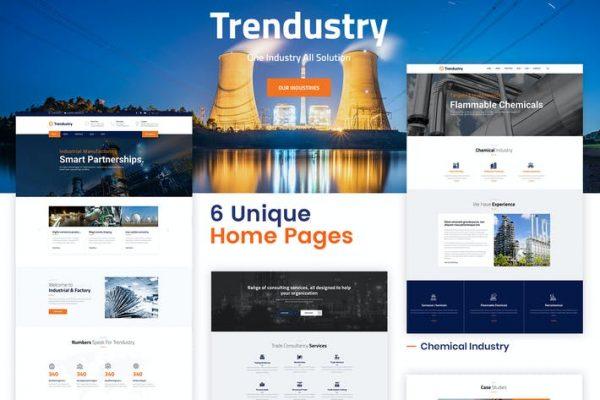 Trendustry -  Endüstriyel ve İmalat WordPress