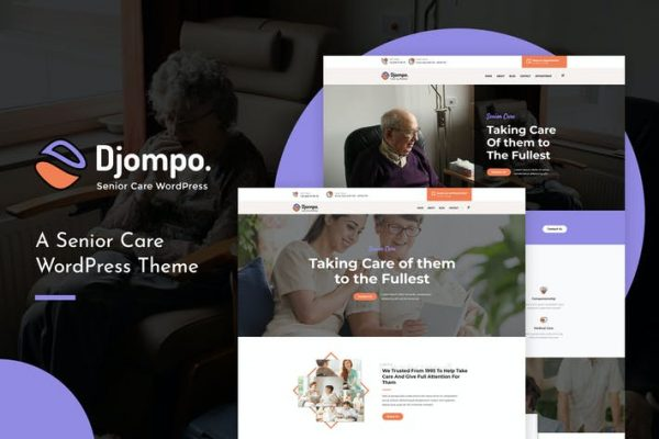 Djompo - Üst Düzey Bakım WordPress Temasısı