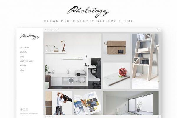 Photology - Temiz Fotoğraf Galerisi WP Temasısı