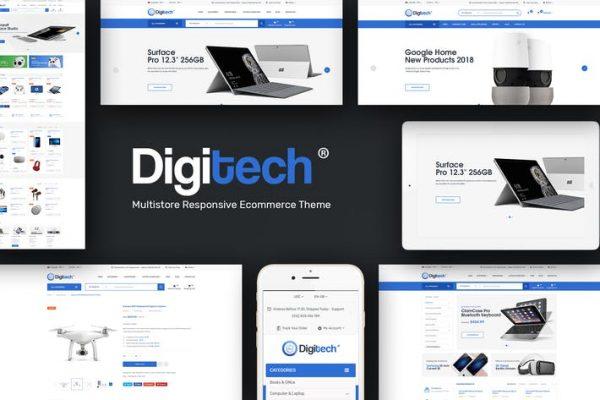 Digitech -  WordPress için Teknoloji Temasısı