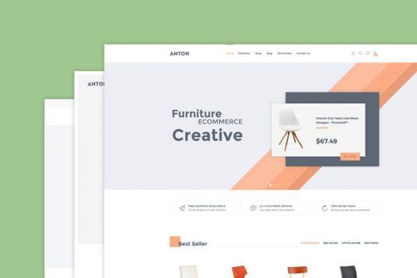 Anton - Mobilya WooCommerce WordPress Temasısı