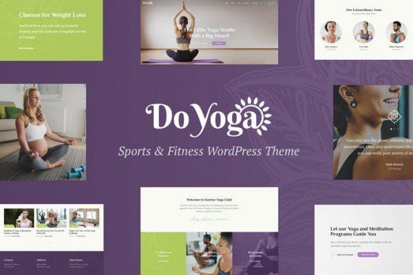 Do Yoga - Fitness Stüdyosu ve Yoga Kulübü WP Temasısı