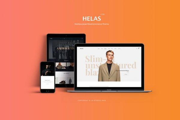 Helas -  Çok Amaçlı WooCommerce Temasısı