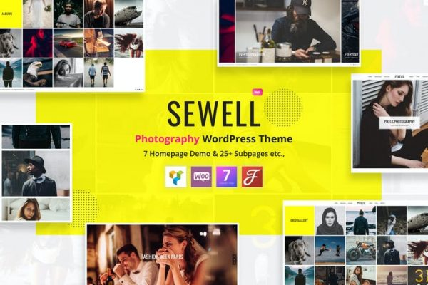Sewell - Fotoğrafçılık WordPress Temasısı