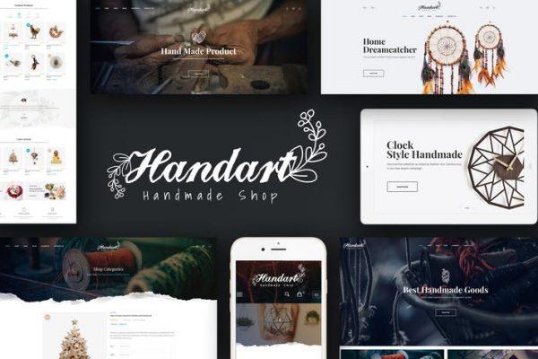 Handart -  WooCommerce WordPress için El Yapımı Teması