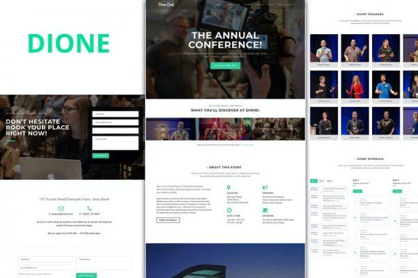 Dione - Konferans ve Etkinlik WordPress Temasısı
