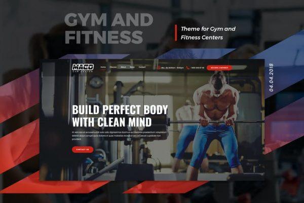 Maco - Spor Salonu ve Fitness WordPress Temasısı