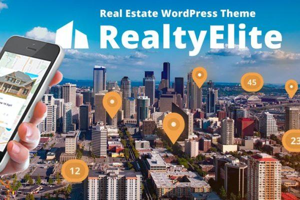 RealtyElite -  Emlak WordPress Temasısı