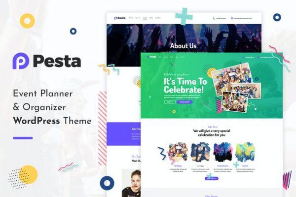 Pesta - Etkinlik Planlayıcısı ve Organizatör WordPress Temasısı