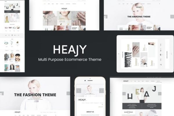 Heajy -  El Yapımı Moda WordPress Temasısı