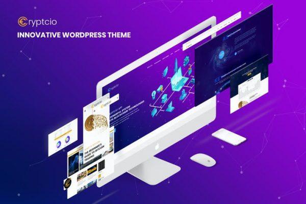 Cryptcio - Yenilikçi WordPress Temasısı