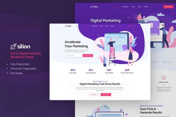 Silion - Dijital Pazarlama WordPress Temasısı