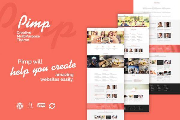 PIMP -  Yaratıcı Çok Amaçlı Teması