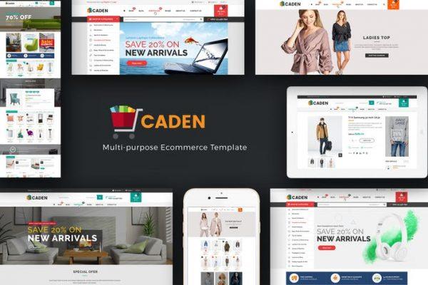 Caden -  Mega Mağaza Duyarlı WordPress Temasısı