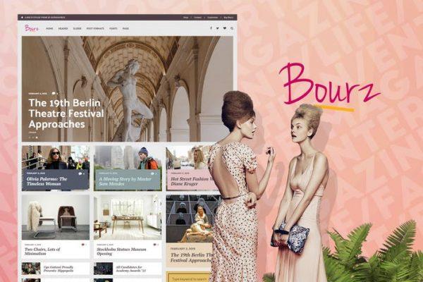 Bourz -  Yaşam ve Eğlence Dergisi Blog Temasısı