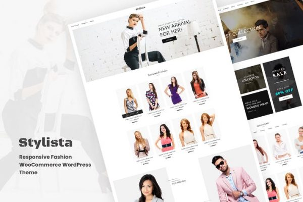 Stylista -  Duyarlı Moda WooCommerce WordPres