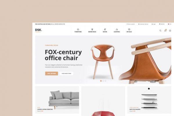 DSK - Mobilya Mağazası WooCommerce WordPress Temasısı