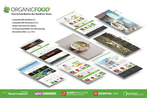 Organic Food -  Çiftlik ve Gıda İşletmeleri Eko WordPress