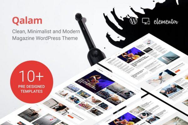 Qalam -  Gazete ve Dergi WordPress Temasısı