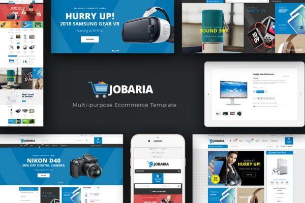 Jobaria - Teknoloji WordPress Temasısı