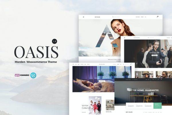 Oasis -  Modern WooCommerce Temasısı