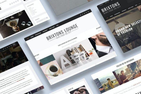 Brixton - Duyarlı bir WordPress Blog Temasısı