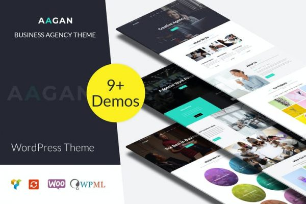 Aagan -  Ajans, Başlangıç WordPress Temasısı