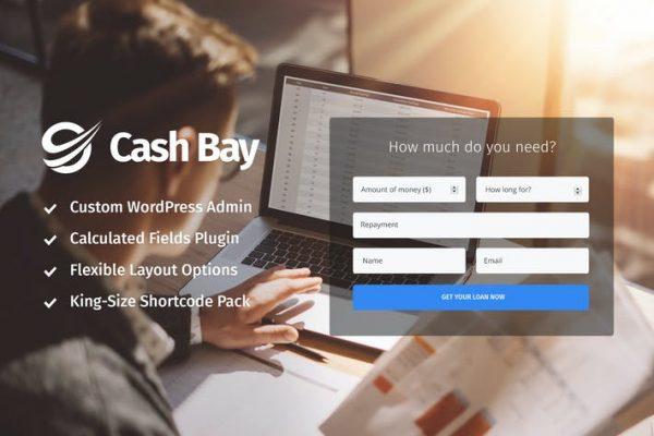 Cash Bay - Kredi ve Kredi Parası WP Temasısı