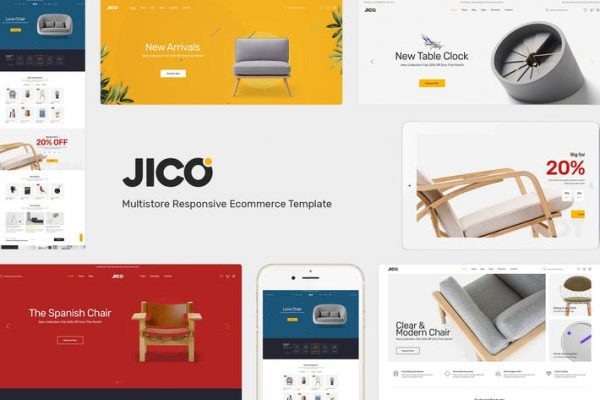Jico -  Mobilya ve Dekor için WooCommerce Wordpress