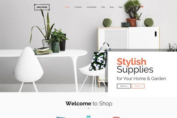 See Shop Furniture - İç Mekan RTL Duyarlı WooCo