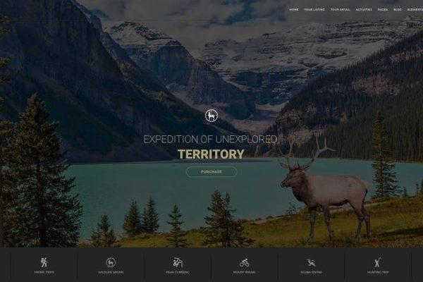 Entrada -  Tur Rezervasyonu ve Macera WordPress Temasısı