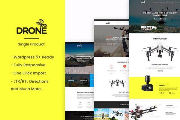 Drone -  Tek Ürün WordPress Temasısı